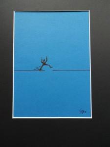 Gewisse Hindernisse oder auch Lücken kann man hüpfend leichter überwinden.